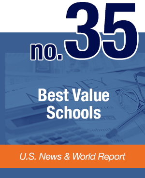 #35 Best Value Schools - U.S. News & World Report