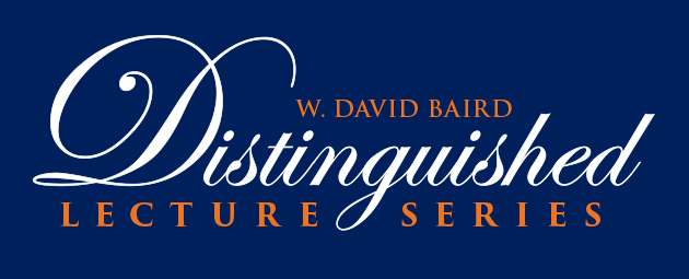 selection of past W. David Baird Lecture Series speakers