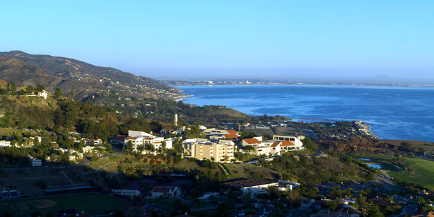 Campus Location And Maps Pepperdine University Seaver College