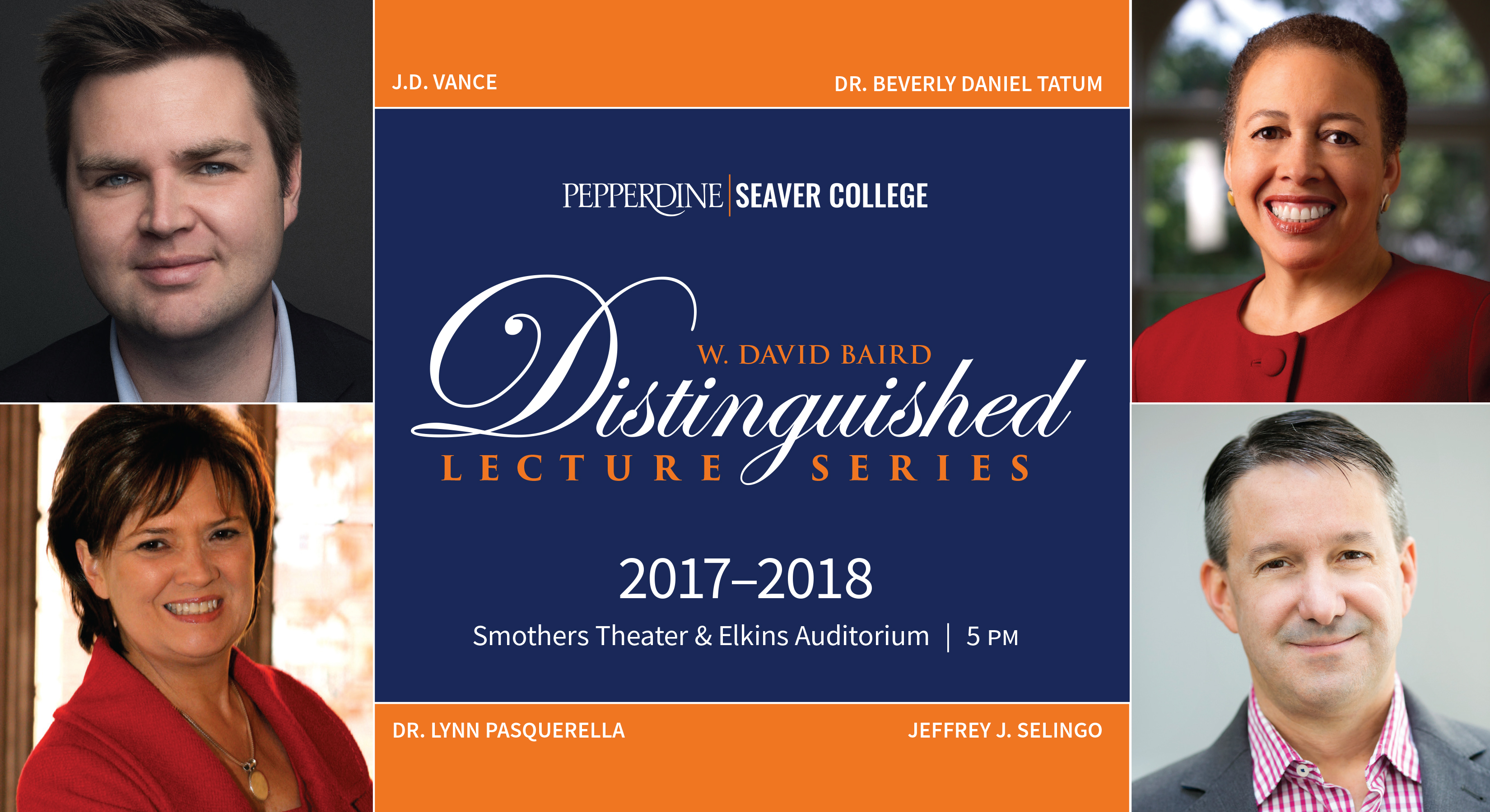 W. David Baird Distinguished Lecture Series | Pepperdine | Seaver College