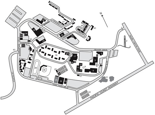 Seaver Campus Map