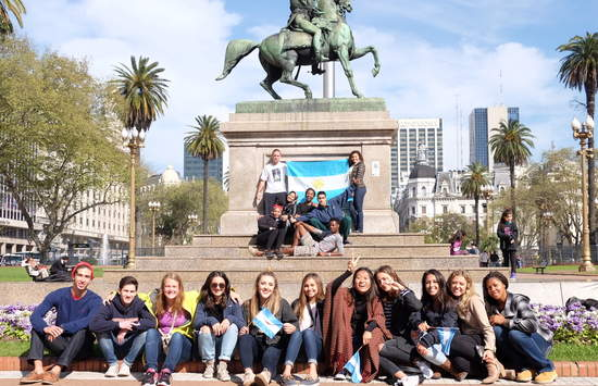 Students studying abroad in Buenos Aires