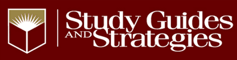 Study Guides and Strategies logo