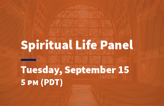 virtual pepperdine preview spiritual life session