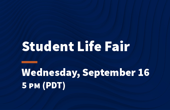 virtual pepperdine preview student life fair