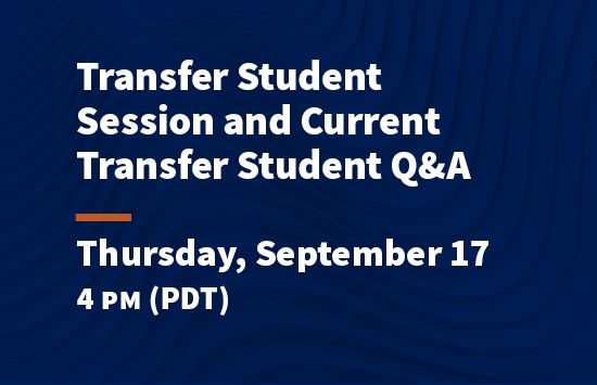 virtual pepperdine preview transfer session