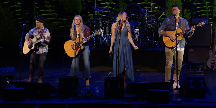 Country artists take the stage at Borderline Benefit Concert