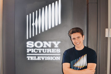 Junior Cristian Isbrandtsen at Sony Pictures