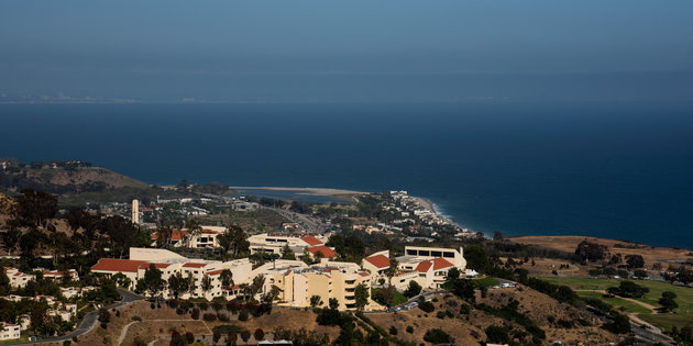 Pepperdine Malibu Campus View
