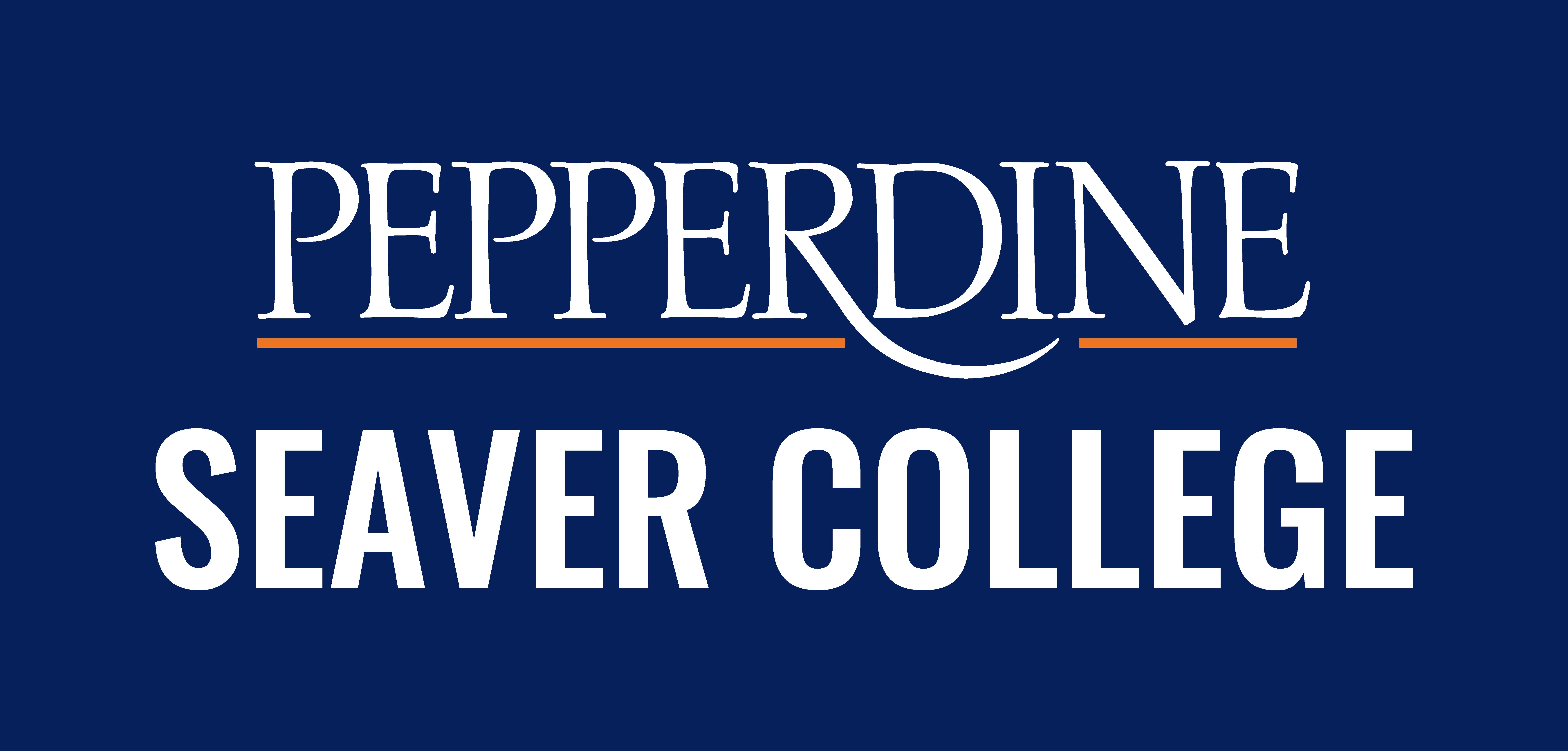 Pepperdine Seaver College logo