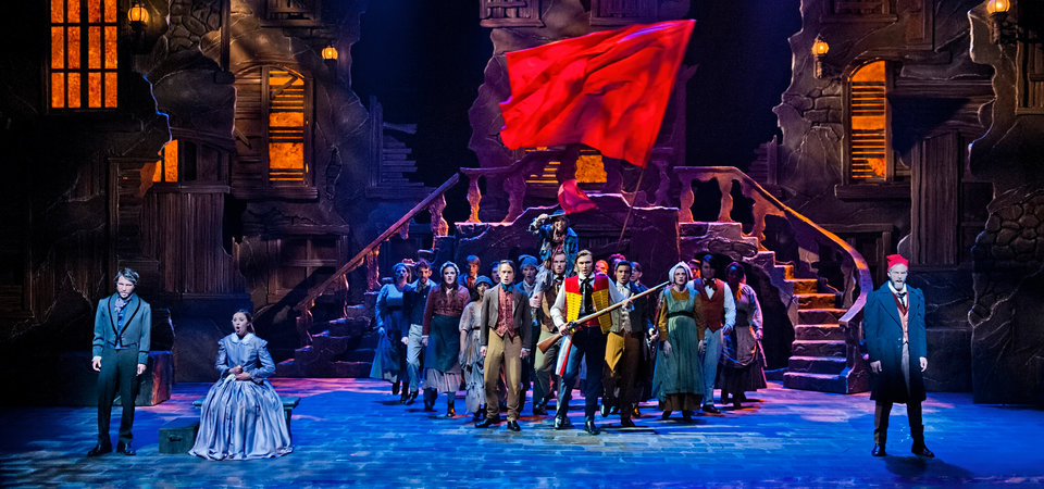 "Pepperdine theatre production of ""Les Miserables"""