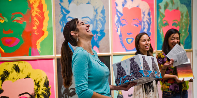 Art history majors learn about Andy Warhol's paintings - Art History Degree