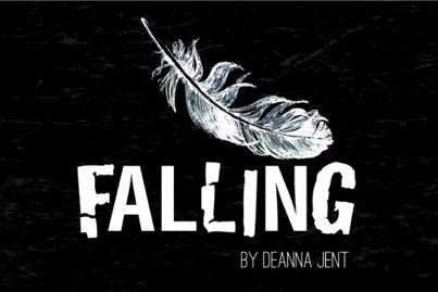 Falling theatre poster