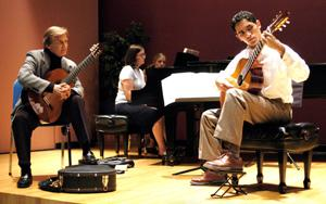 Parkening Young Artist Program - Parkening with Pepperdine students