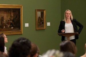 Dr. Kim Richter at Art and Art History Lecture Series
