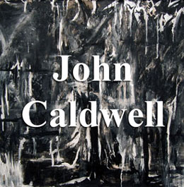 Senior art exhibitor, John Caldwell