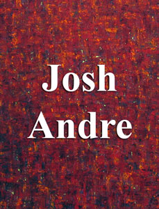 Senior art exhibitor, Josh Andre