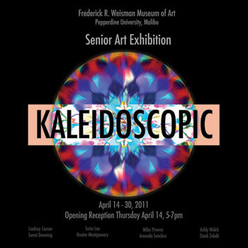 Senior Art Exhibit 2011 Poster