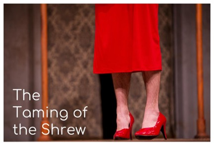 Taming of the Shrew theatre poster