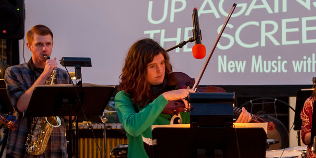 Two Seaver students perform at Up Against the Screen