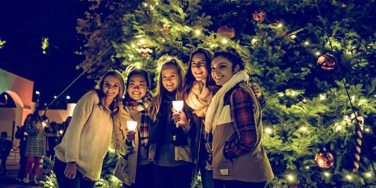 Pepperdine's Annual Christmas Tree Lighting Ceremony