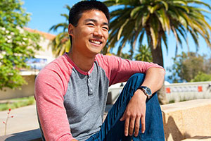 Pepperdine student David Chang