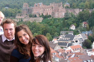 Pepperdine students in Germany