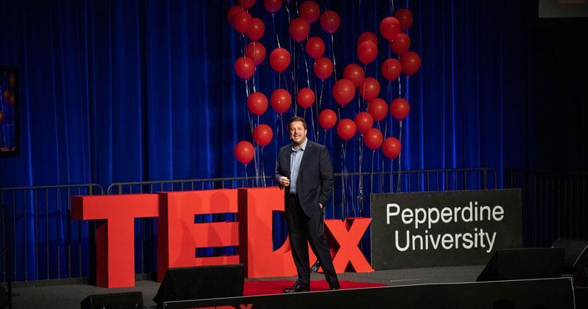 Pepperdine alum presenting at TEDx