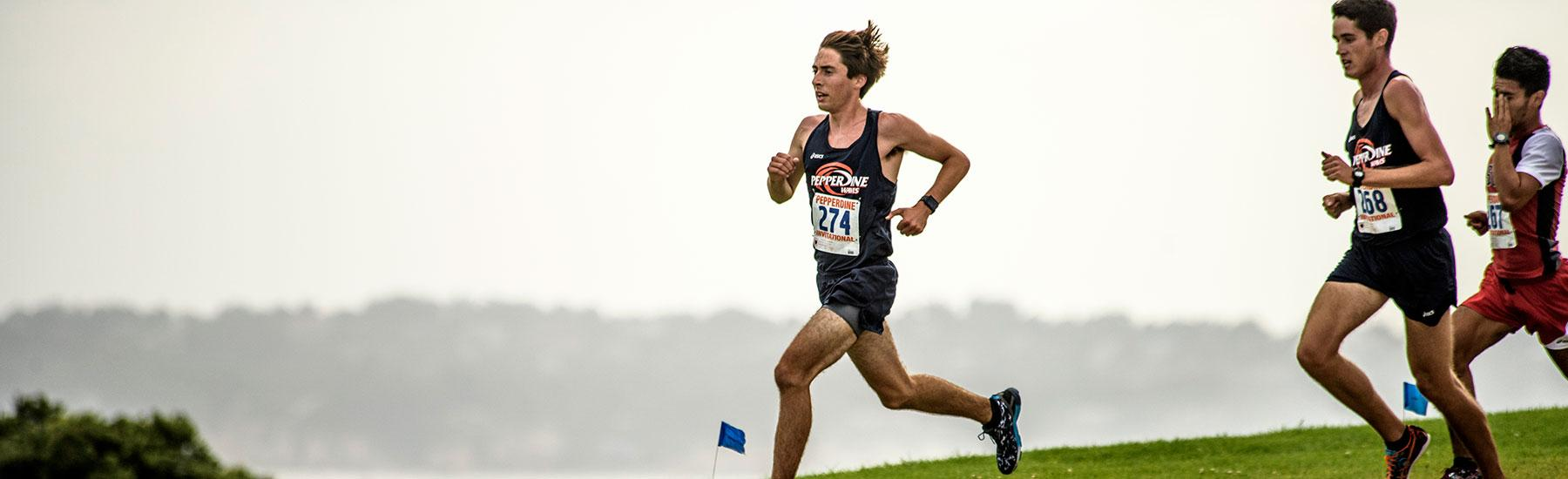Men's Cross Country runner
