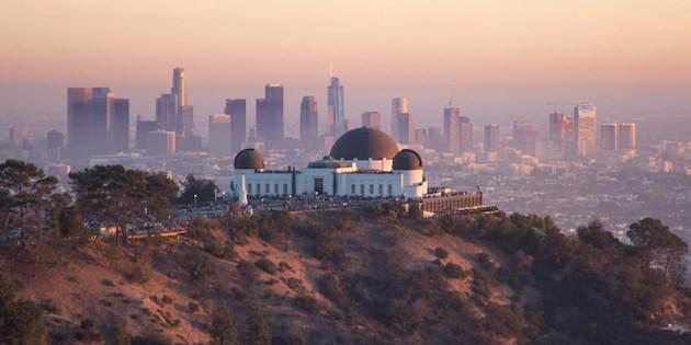 Photo of Griffith Observatory from a distance