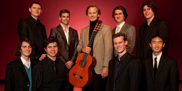 Christopher Parkening and his guitar music majors - Music Degree