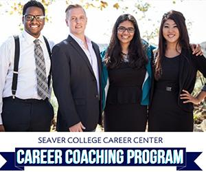 upcoming events/programs for Seaver Career Center