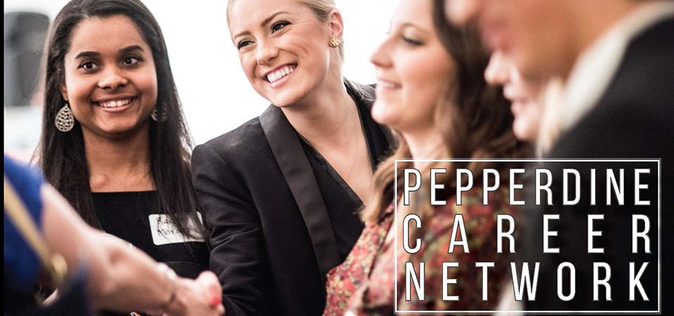 Find advisors and mentors today on the Pepperdine Career Network.  Connect with people doing the jobs you want in your industry of interest.