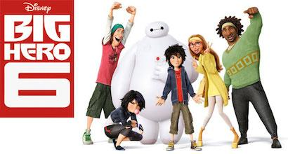 Disney's Big Hero 6 movie poster