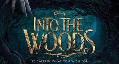 Disney's Into the Woods movie poster