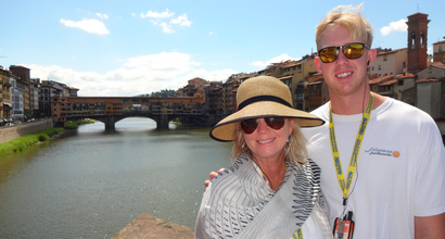 Seaver alumni pictured in Florence, Italy