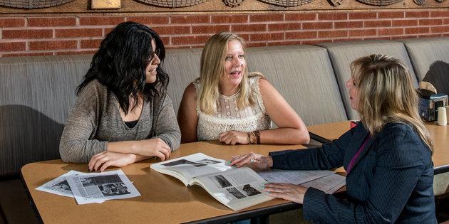 Dana Dudley and American Studies graduate students