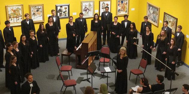 Chamber Choir & Collegium Musicum Concert in Weisman Museum