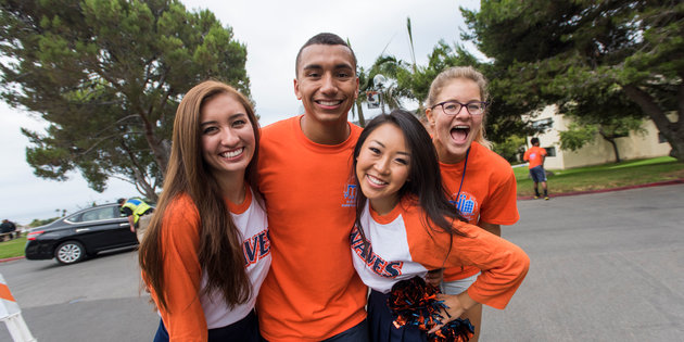 Pepperdine students