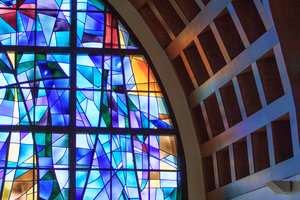 Pepperdine chapel stained glass