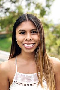Sustainability minor student Elise Doan