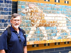 Dr. Willis at the Ishtar Gate