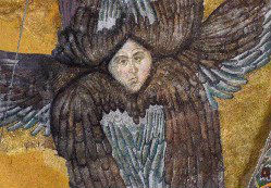 Detail of a fresco at Hagia Sophia